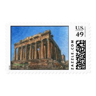 Parthenon Postage Stamp