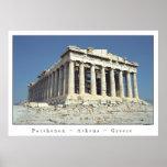 Parthenon Póster