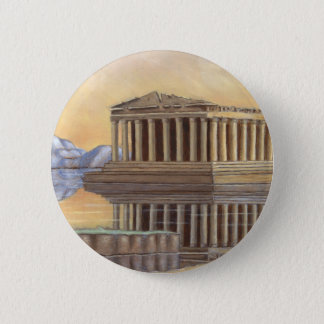 Parthenon Round Button