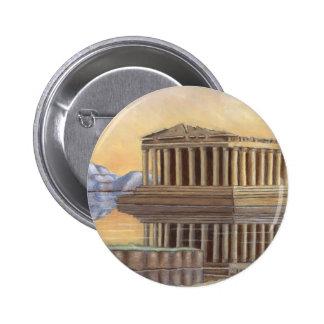 Parthenon Round Button