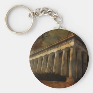 Parthenon, Temple of Athena Keychain