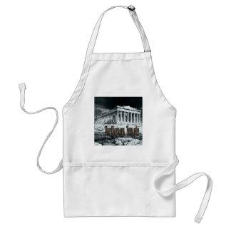 Parthenon temple series adult apron