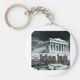 Parthenon temple series keychain