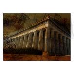 Parthenon, templo de Athena Tarjeta