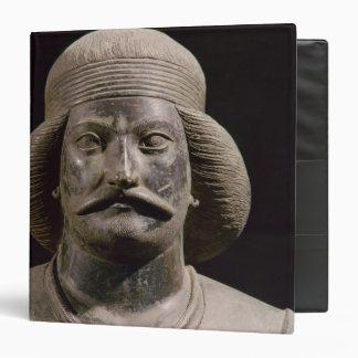 Parthian warrior, from Shami, 01st century AD 3 Ring Binder