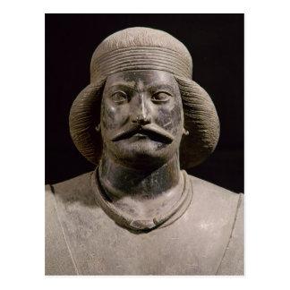 Parthian warrior, from Shami, 01st century AD Postcard
