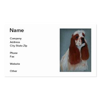Parti Cocker Spaniel Business Cards