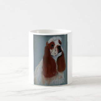 Parti Cocker Spaniel Coffee Mug