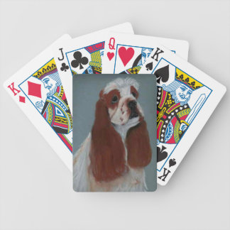 Parti Cocker Spaniel Dog Playing Cards