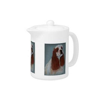 Parti-Colored Cocker Spaniel Teapot