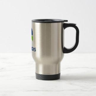 Parti Québécois (PQ) Logo Travel Mug