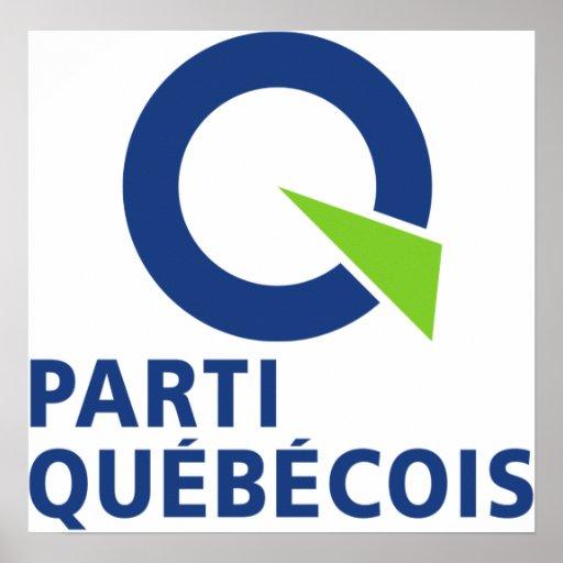 Parti Qubcois PQ Poster Zazzle