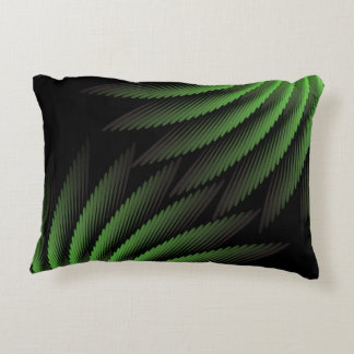 Partial Green Ferns Accent Pillow