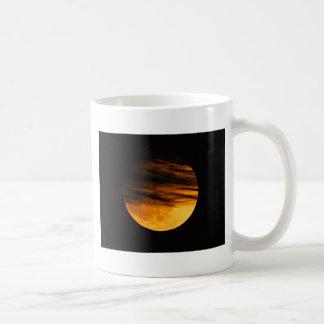 Partial Lunar Eclipse Coffee Mug