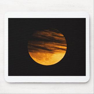 Partial Lunar Eclipse Mouse Pad