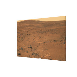 Partial Seminole panorama of Mars Stretched Canvas Print