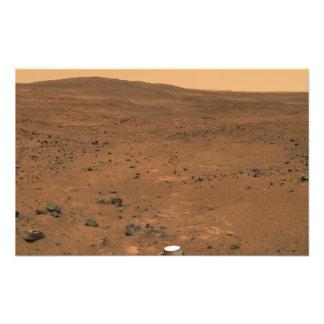 Partial Seminole panorama of Mars Art Photo