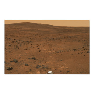 Partial Seminole panorama of Mars Poster