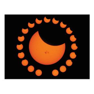 Partial Solar Eclipse Postcard