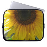 Partial Sunflower Computer Sleeves