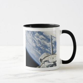 Partial view of Space Shuttle Endeavour Mug