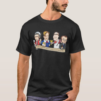 Partially Examined Life Caricatures T-shirt