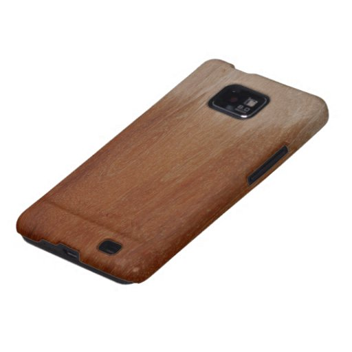 Partially Varnished Wood Plank Android Case Samsung Galaxy SII Cover