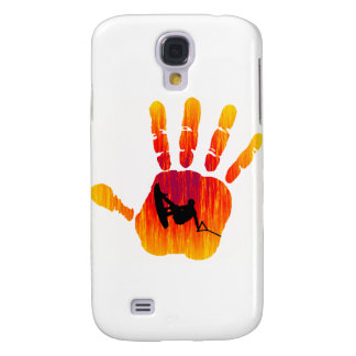 Participación de la palma de Wakeboard Funda Para Galaxy S4