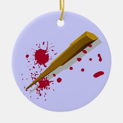 Participación de la protección del vampiro ornaments para arbol de navidad