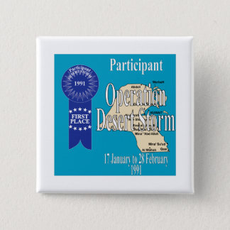 Participant Operation Desert Storm Button