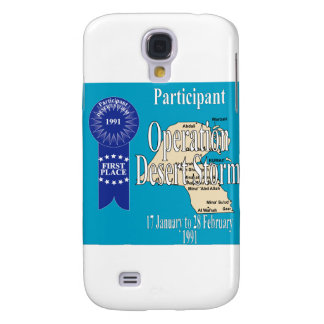 Participant Operation Desert Storm Galaxy S4 Cover