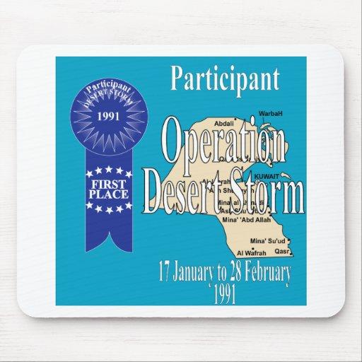 Participant Operation Desert Storm Mouse Pad