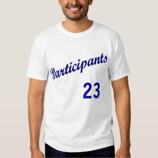 Participants Uniform T-Shirt