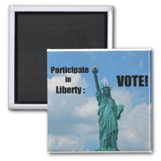 Participate in Liberty VOTE Fridge Magnets
