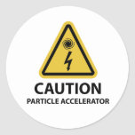 : Particle Accelerator Sticker