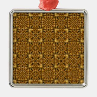 Particle Board Metal Ornament