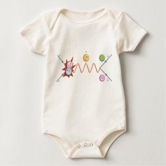 Particle Collision Baby Bodysuit