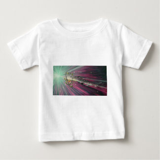 """""""particle"""" original oil painting baby T-Shirt"""