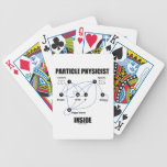 Particle Physicist Inside (Standard Model Higgs) Playing Cards