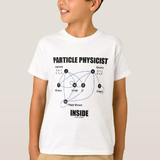 Particle Physicist Inside (Standard Model Higgs) T-Shirt