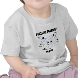 Particle Physicist Inside (Standard Model Higgs) Shirt