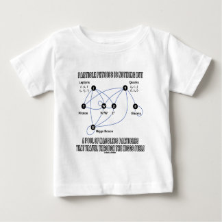 Particle Physics Is Nothing But A Pool Of Massless Baby T-Shirt