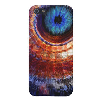 Particle smashing eye iPhone case Cases For iPhone 5