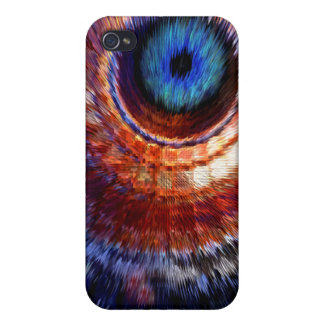 Particle smashing eye iPhone case Covers For iPhone 4