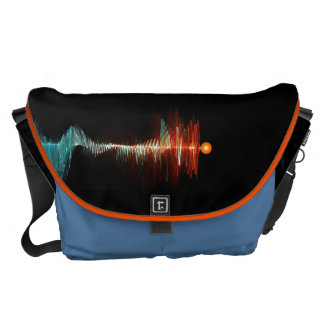 Particle-Wave Duality Courier Bag