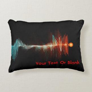 Particle-Wave Duality Decorative Pillow