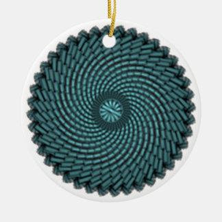 particles ceramic ornament