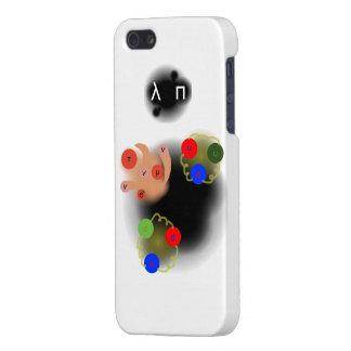 Particles iPhone Case