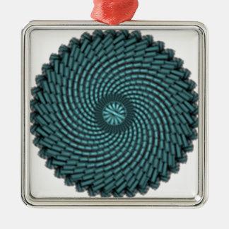 particles metal ornament