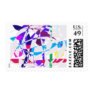 Particles Postage Stamp